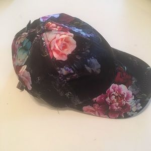 Free Press satiny floral hat